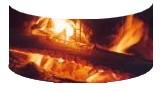 Vitre courbe de cheminée: Cliquez ici